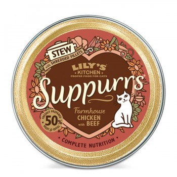LKCAT SUPPURRS Farmhouse Chicken & Beef 9X85 GR