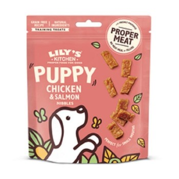 LKDOG TREATS PUPPY Chicken&Salmón 70 grs
