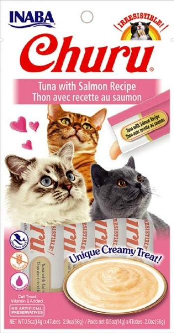 Display Churu gato atún con salmón 12 blister x 4 stick
